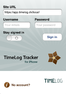 timelog tracker iphone