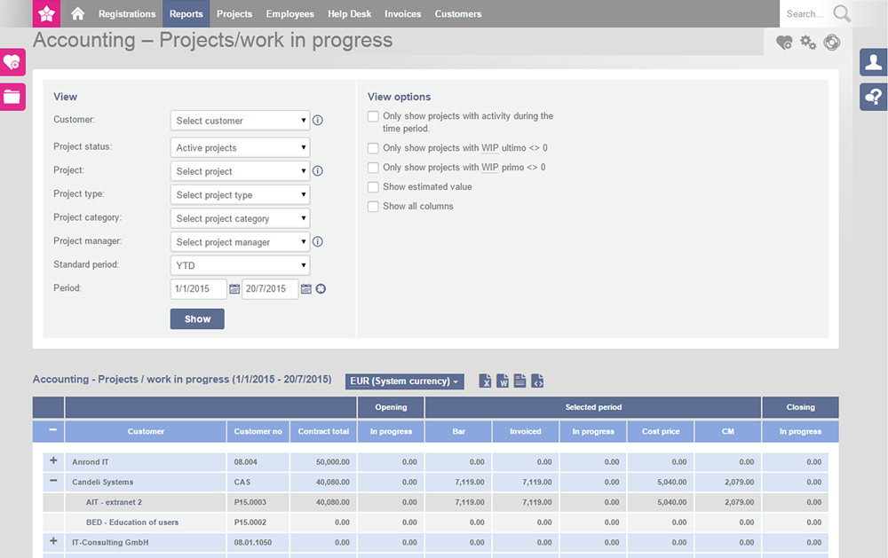 Efficient Project Invoicing With TimeLog - Invoice recognition software
