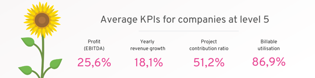 KPIs for companies on level 5